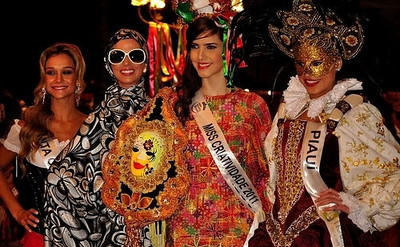 Miss Mundo Brasil World Brazil 2011 Creativity Costume Competition