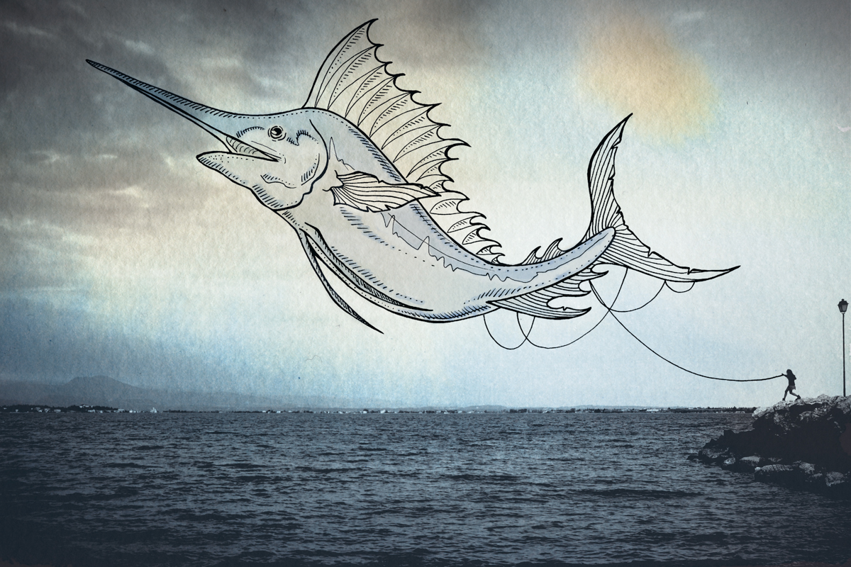12-Marlin-Giulia-Pex-Human-Body-and-the-Ocean-Drawings-on-Photos-www-designstack-co