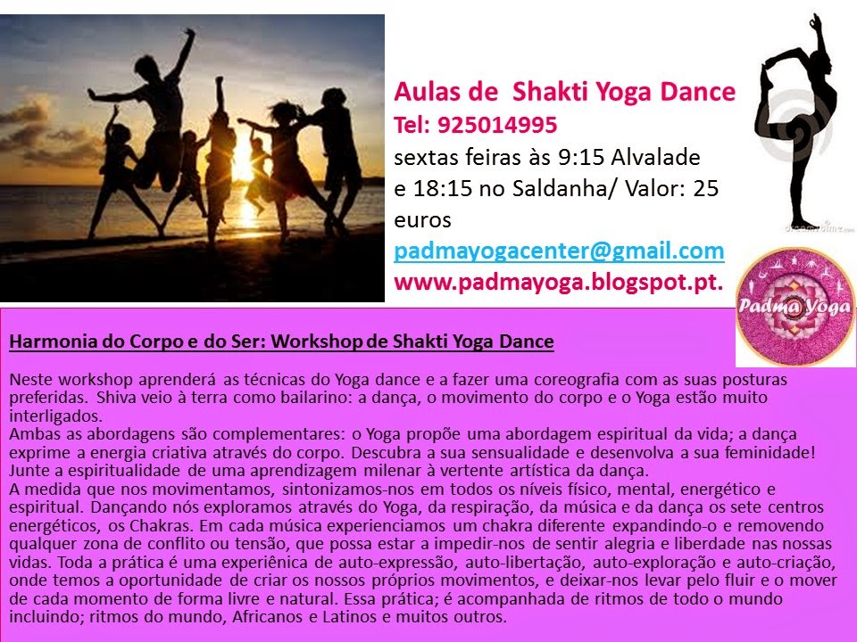 AULAS DE YOGA DANCE