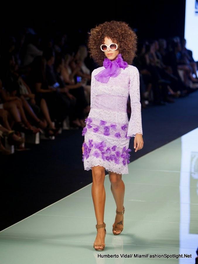 Moda: Samy Gicherman impregnó de magia la pasarela grande del Miami Fashion Week