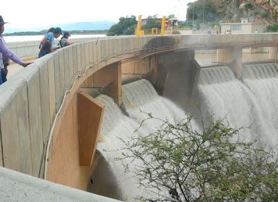 Represa de San Jacinto a punto de cumplir vida útil