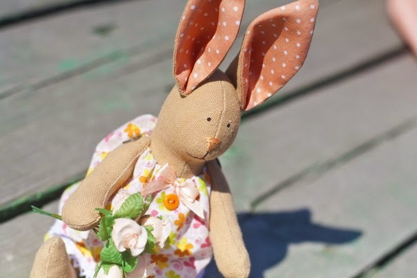 Заяц, зайчик, игрушка зайчик, игрушка ручной работы, купить игрушку ручной работы, текстильные игрушки