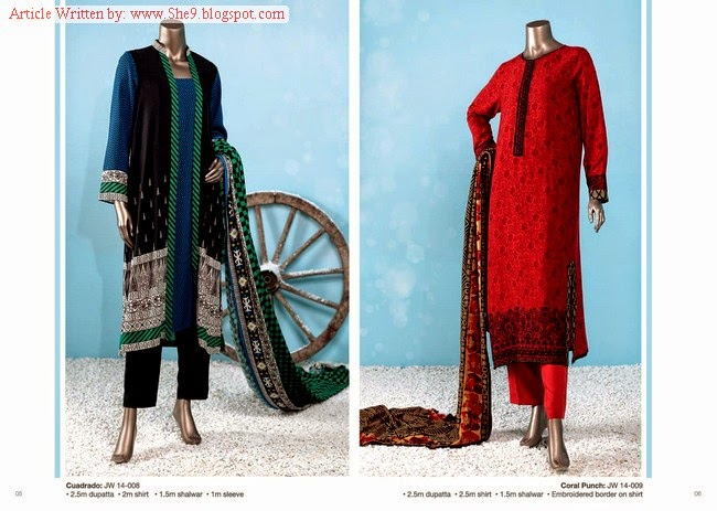Junaid Jamshed Winter-Fall Dress Collection 2014