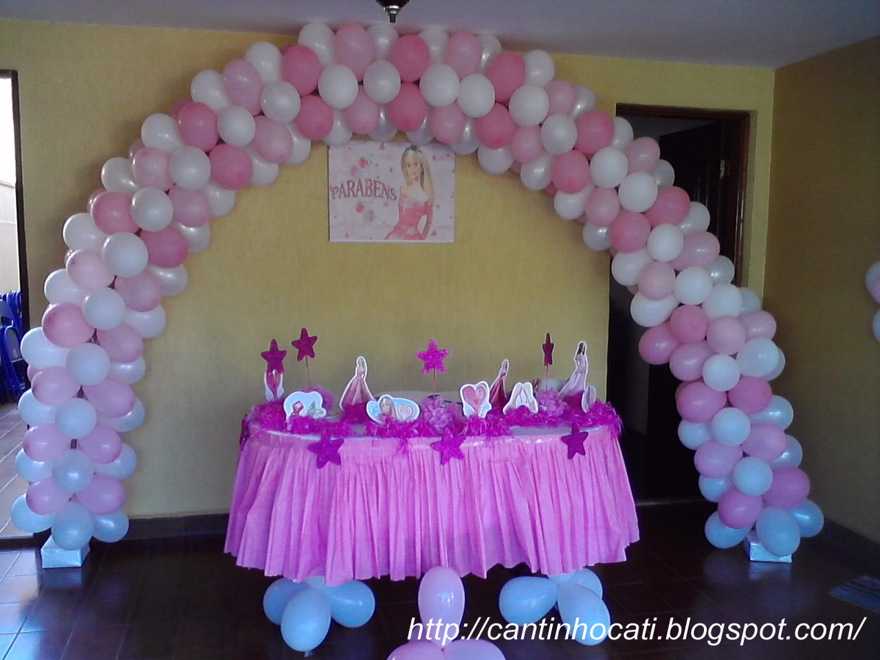 Pin Festa Tema Paris Decora Ajilbabcom Portal Picture on Pinterest #1C5DAF 1280x960 Banheiro Da Barbie Mercadolivre