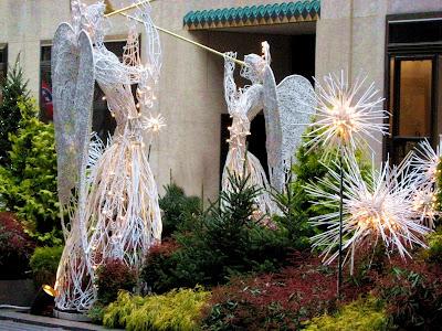 Christmas Angels Rockefeller Center