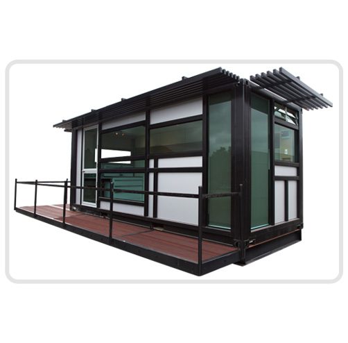 Shipping container homes one cool habitat auckland new zealand 20 foot container home - Foot shipping container home ...
