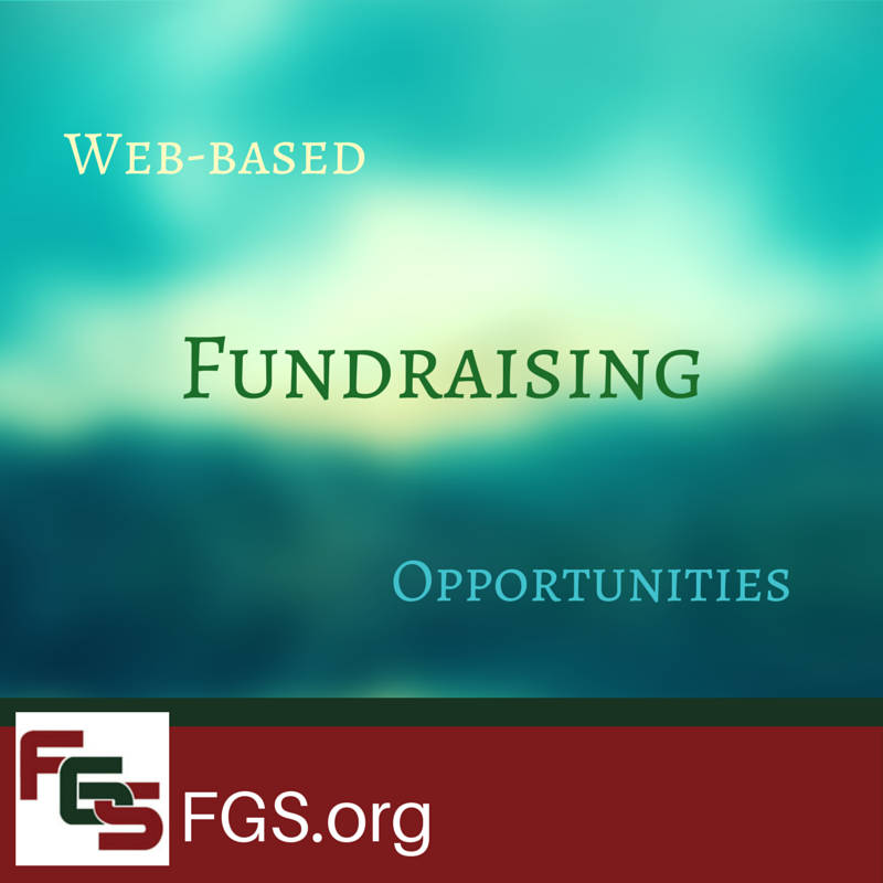 Web-based Fundraising Opportunities via FGS.org