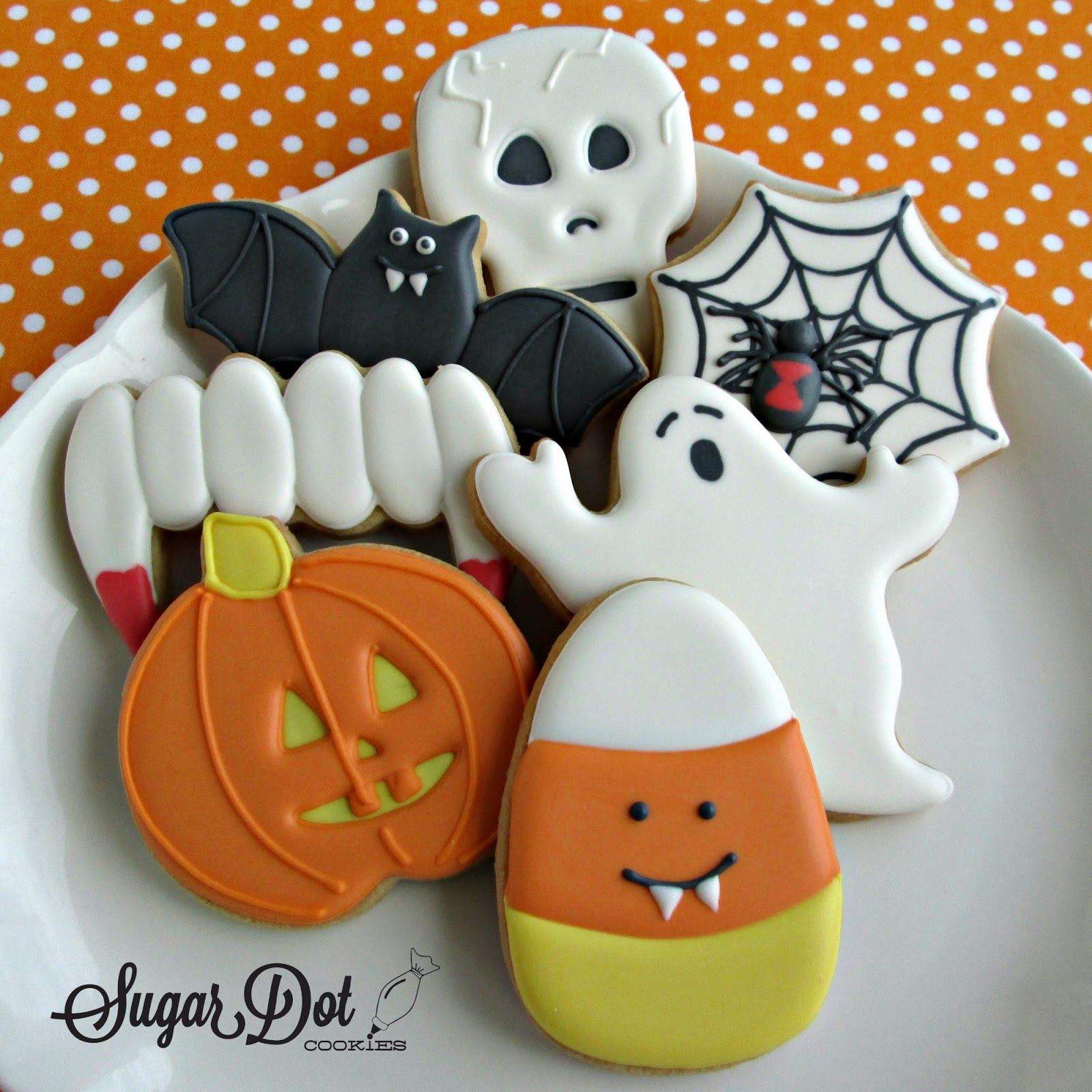 Sugar Dot Cookies: October 2014