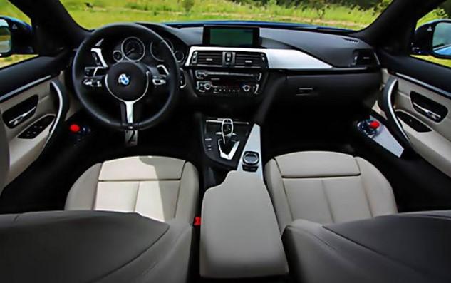 2017 BMW 4 Interiors