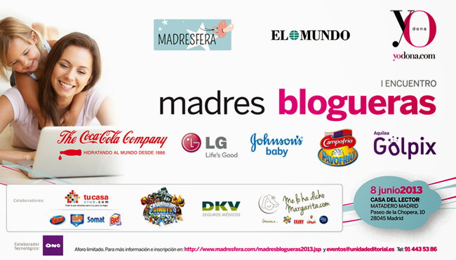encuentro madres blogueras madresfera yodona