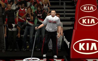 NBA 2K13 Portland Trail Blazers Sideline Characters Mod