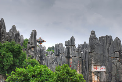 Yunnan Stone Forest, China