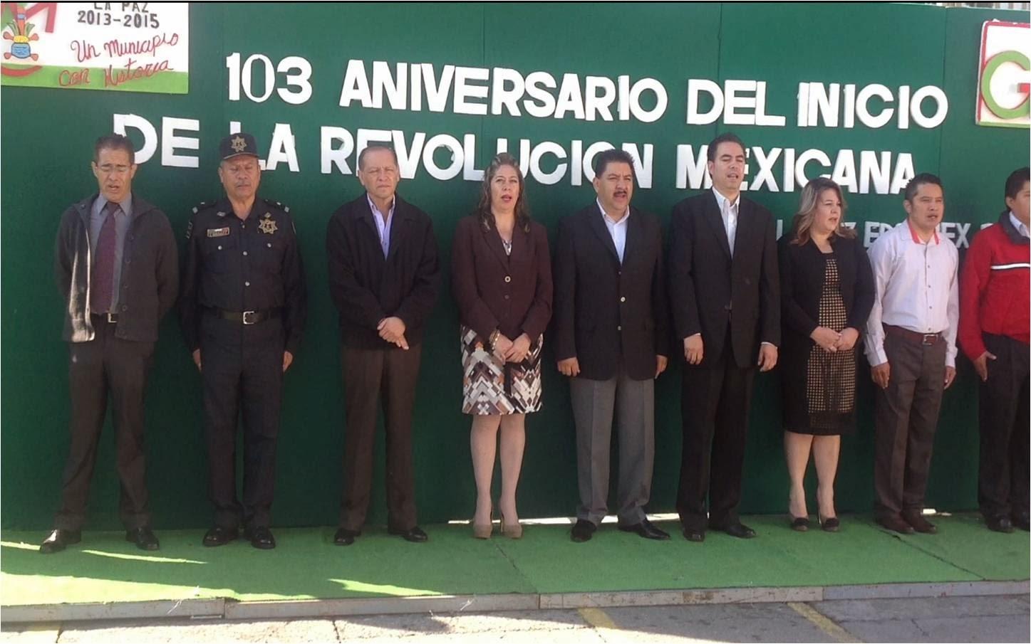 103 ANIVERSARIO DEL INICIO DE LA REVOLUCION MEXICANA