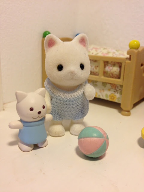 Sylvanian Families Blog Japan JP Babies Golightly Silk Cat