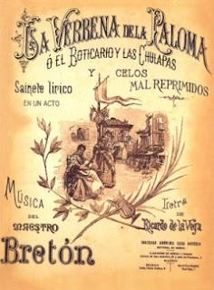verbena+paloma+zarzuela+genero+chico