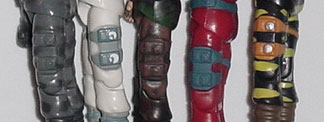 Firefly Mold Comparison, 1984, 1998, 2000, 2003, 2002