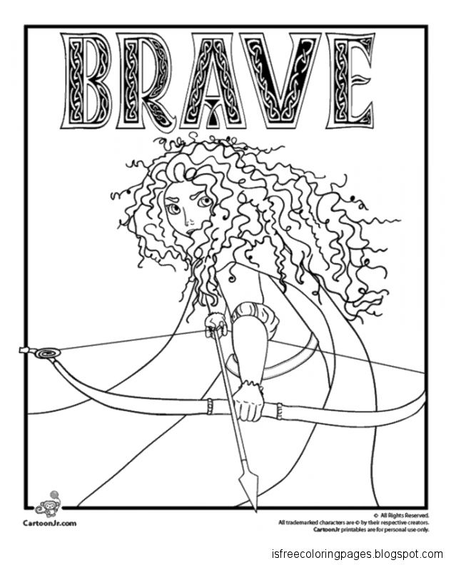Brave Coloring Pages | Free Coloring Pages