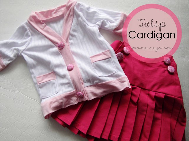 free cardigan sewing pattern