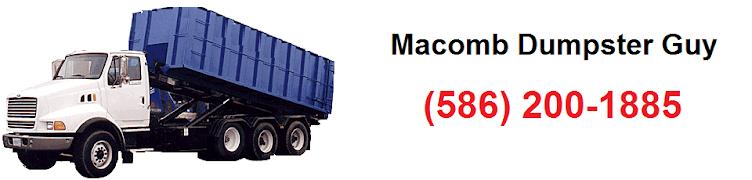 Macomb Dumpster Guy