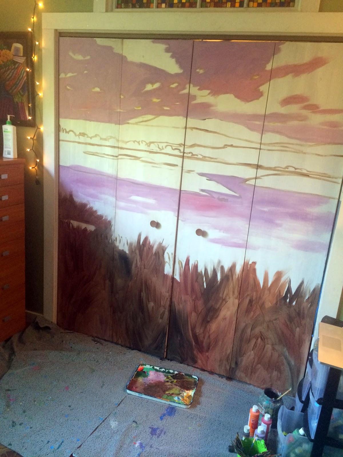 central oregon painting, malheur wilderness area, oregon bird painting, bird watching art, oregon muralist, portland muralist