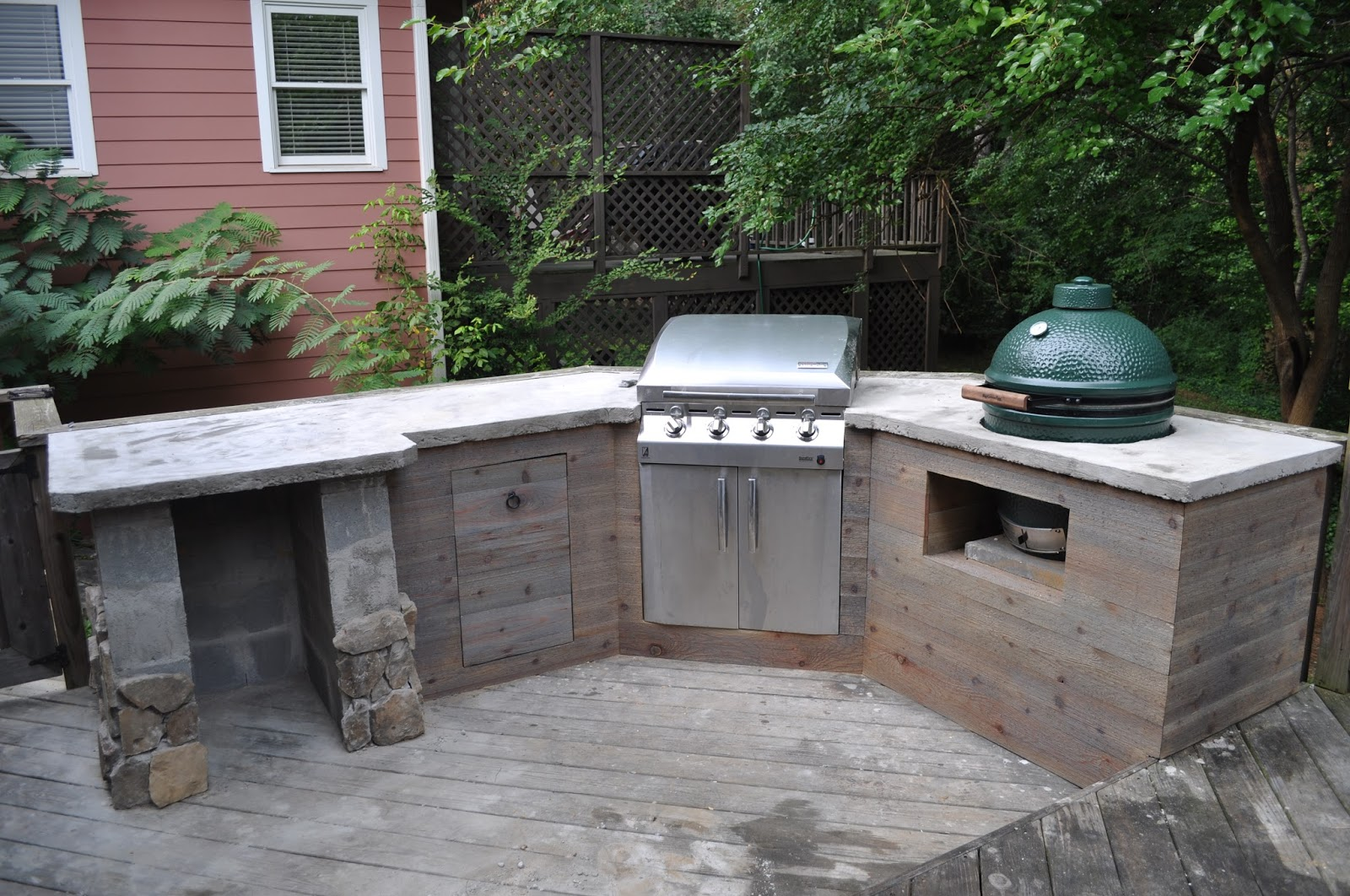 The cow spot outdoor kitchen part 2 - Designing barbecue spot outdoor sanctuary ...