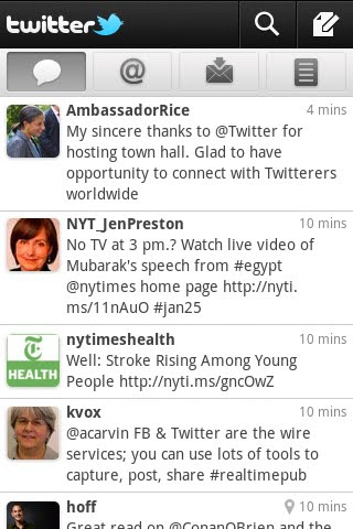 Twitter for Android 2, seem familiar?