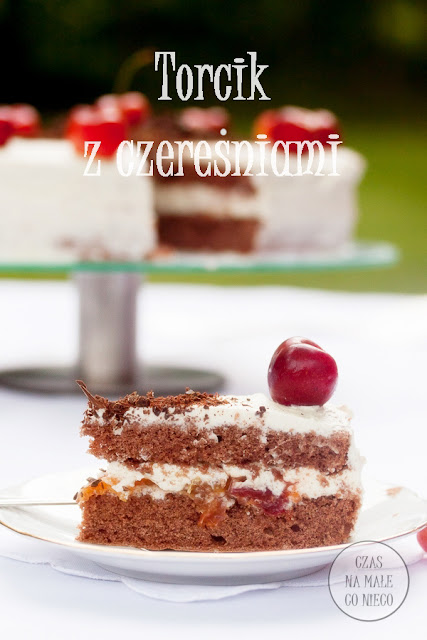 konfitura czereśniowa tort