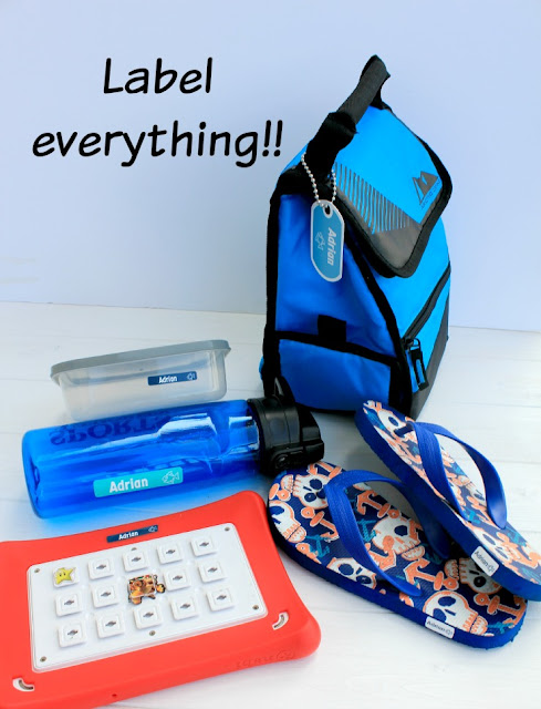Label all items your child takes to camp! #ICCampMabel #IC #ad