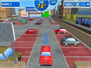 3D Araba Park Etme Oyunu