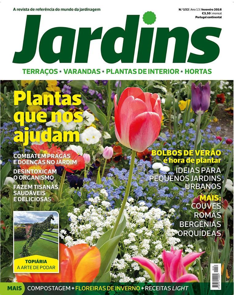 Greenman revista jardins de fevereiro for Jardin de genios revista 2016