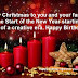 Merry Christmas to you and your family. Let the Start of the New Year starting point of a creative era. Happy Birthday!