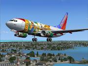 New Southwest 737 Florida One Repaint (florida )