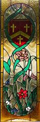 Door panel 2 with crest