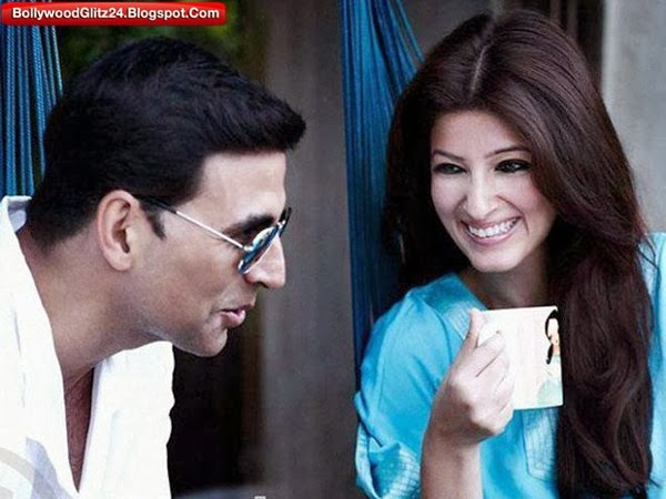 A Husband Wife Clicked (Akshay Kumar and Twinkle Khanna)