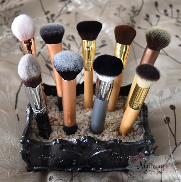 buffing foundation brushes collection