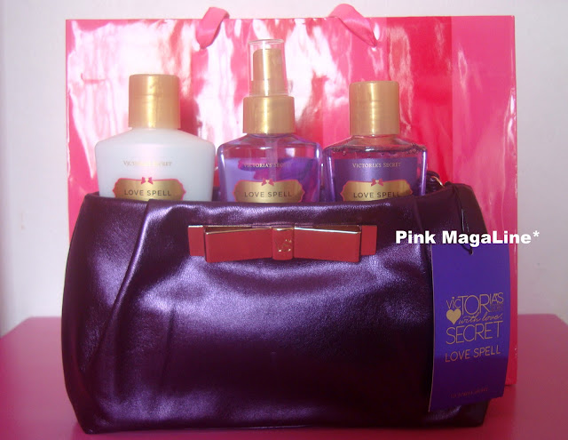 Luxury I got this Victoria us Secret Love Spell Gift Set from Jass Botiq The retail price of this product is Multiply that with you will get