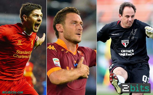 Manter a Essência - Gerrard, Totti, Rogério Ceni