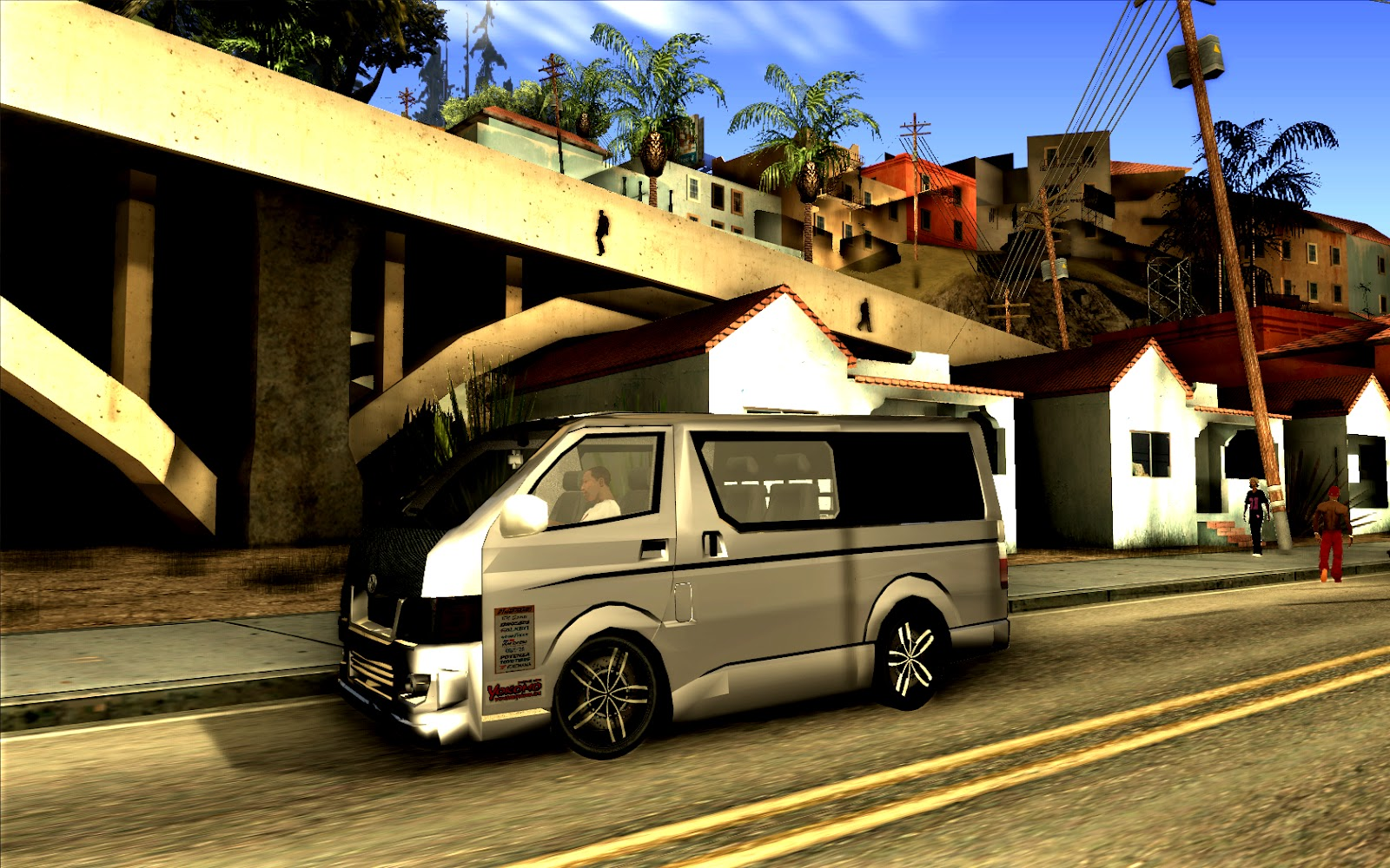 gta truck toyota hiace 200. Black Bedroom Furniture Sets. Home Design Ideas