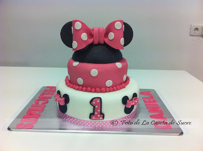 tarta minnie mouse