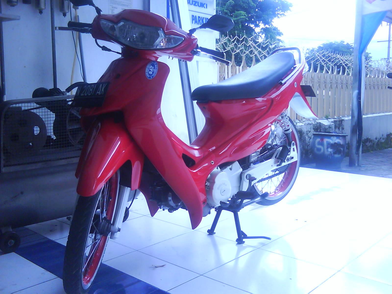 Modif Motor  Suzuki Smash Modification At Malang Indonesia