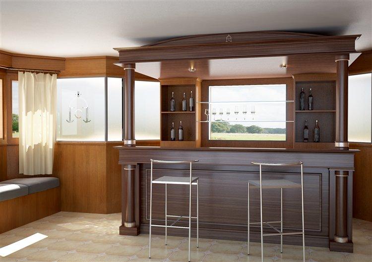 Suvire c mo dise ar un bar para tu casa for Barras de bar para casa rusticas