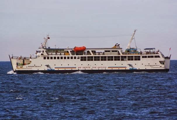 Melayani Pelayaran Lintas Jawa Sumatera Merak - Bhakauni PP