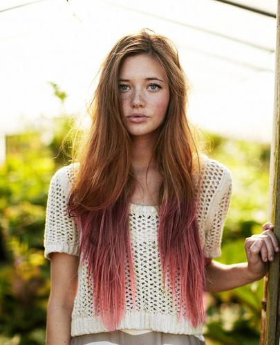 puntas+de+pelo+rosadas