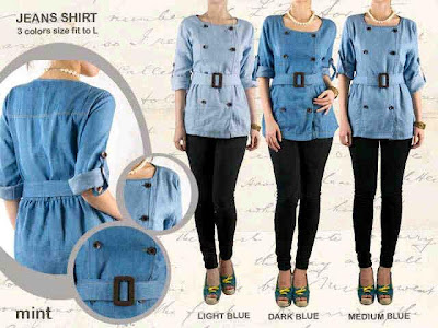 jeans shirt kode MNT 103