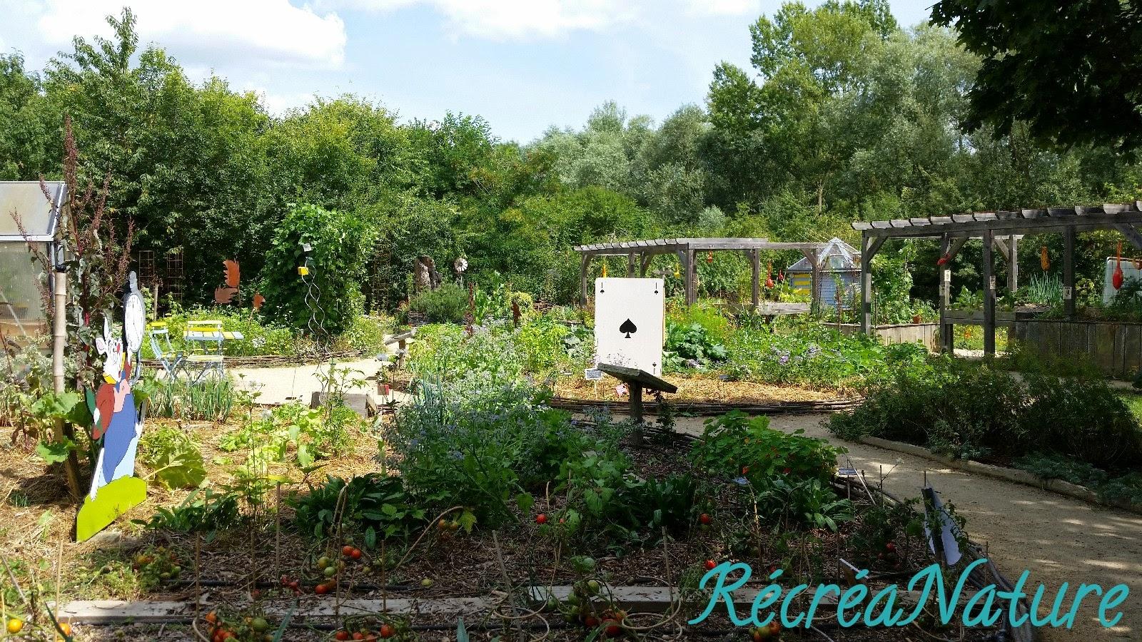 Visite du jardin bio de la maison de l environnement et for Jardin oriente est