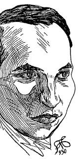 Juan Alcaide - Ilustración por Gregorio Prieto