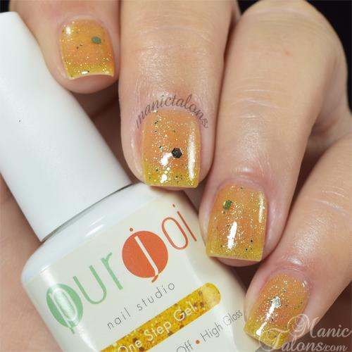 Purjoi One Step Gel Polish Shine Bright Swatch
