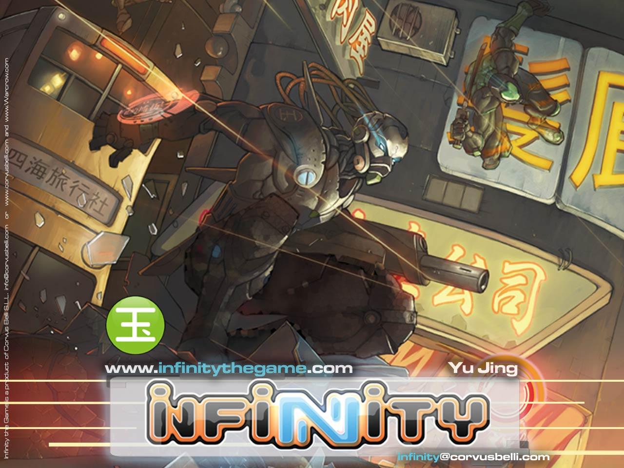 Infinity: El arte de la guerra o el dominio de las ordenes.