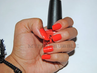 OPI Call Me Gwen-ever swatch