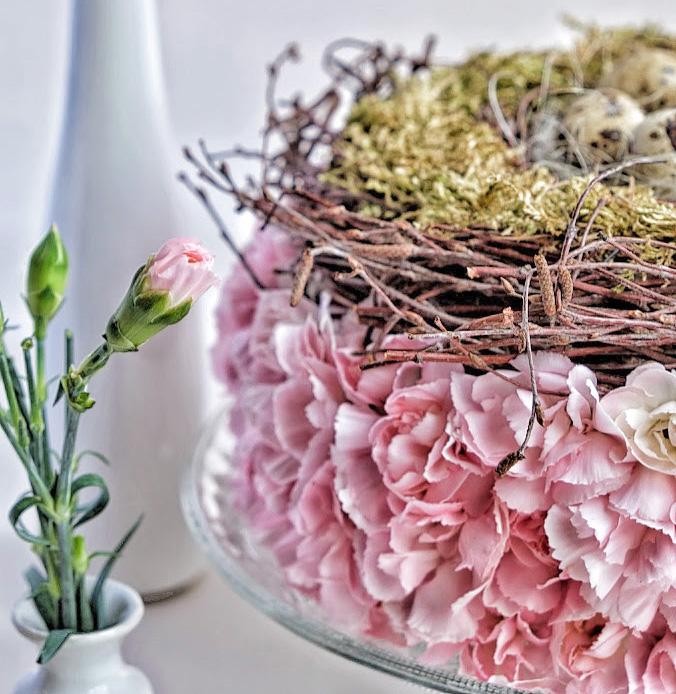 Paasdecoratie met trosanjers diy elsarblog for Decoratie bruiloft zelf maken